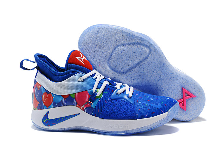 2018 Cheap Nike Zoom PG 2 Blue Pink White On VaporMaxRunning