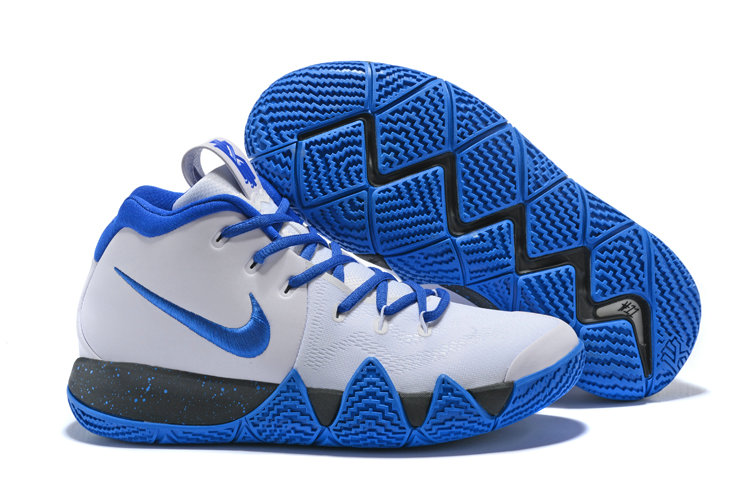 2018 Nike Kyrie Shoes x Cheap Nike Kyrie 4 Duke PE March Madness On VaporMaxRunning
