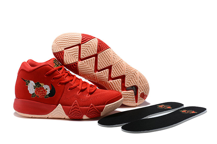 2018 Nike Kyrie Shoes x Cheap Womens Kyrie 4 CNY University Red Black-Team Red 943807-600 On VaporMaxRunning