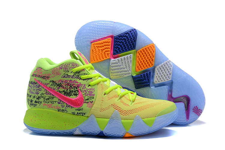 2018 Nike Kyrie Shoes x Cheap Womens Kyrie 4 Confetti Multi-Color-Multi-Color 943806-900 On VaporMaxRunning