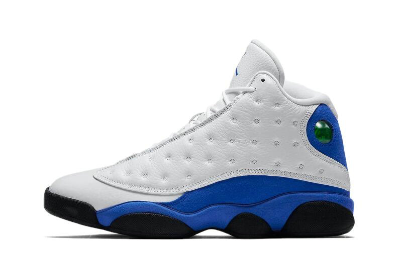 Cheap 2018 New Air Jordan 13 Hyper Royal White Hyper Royal-Black 414571-117 On VaporMaxRunning