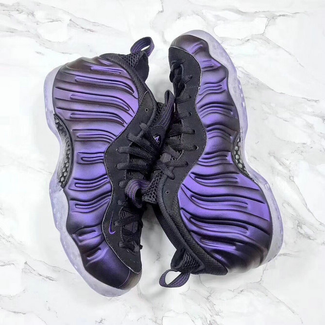 2018 Nike Air Foamposite One Purple Black Cheap Sale On VaporMaxRunning