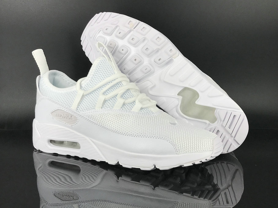 buy online 6fb74 e9607 2018 Nike Air Max 90 EZ Triple White Cheap Sale On ...