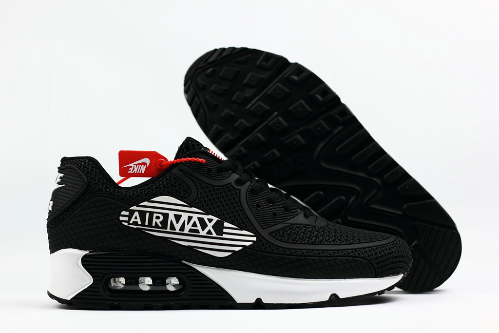 2018 Nike Air Max 90 SneakerBoot Royal White Black Cheap Sale On VaporMaxRunning