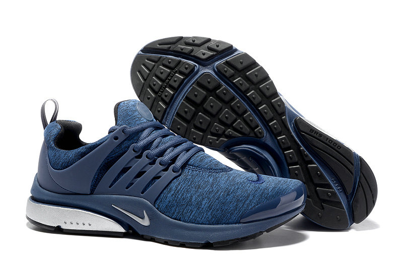 2018 Nike Air Presto BR QS Blue White Black Cheap Sale On VaporMaxRunning