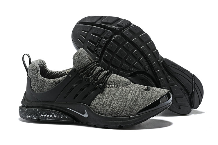 2018 Nike Air Presto BR QS Grey Black Cheap Sale On VaporMaxRunning