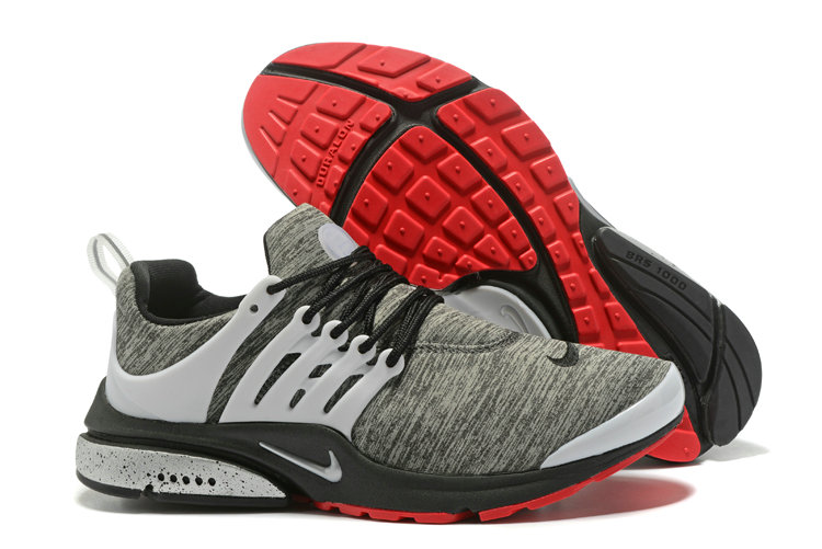 2018 Nike Air Presto BR QS Grey Red White Black Cheap Sale On VaporMaxRunning