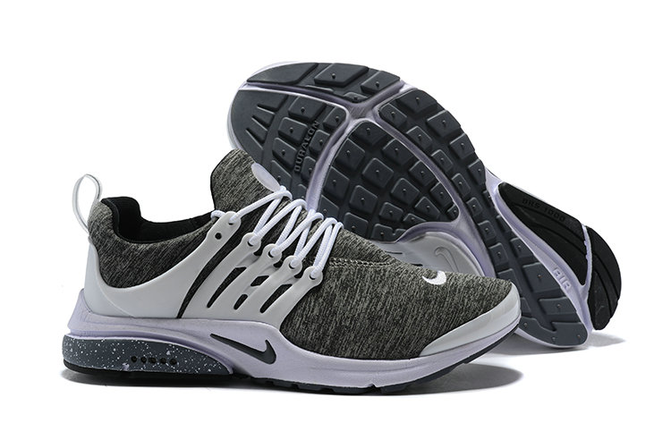 2018 Nike Air Presto BR QS Grey White Black Cheap Sale On VaporMaxRunning