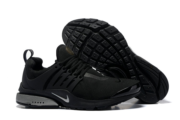 2018 Nike Air Presto BR QS Triple Black Cheap Sale On VaporMaxRunning