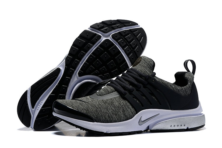 2018 Nike Air Presto BR QS White Grey Black Cheap Sale On VaporMaxRunning