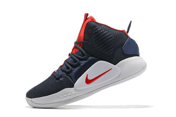 Cheap 2018 Nike Hyperdunk X USA Navy Blue Red-White AO7893-400 On VaporMaxRunning
