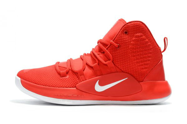 Cheap 2018 Nike Hyperdunk X University Red White Mens Basketball Shoes On VaporMaxRunning