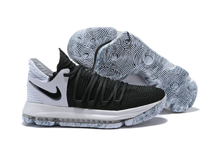 2018 Nike Kevin Durant x Cheap Nike KD 10 Black And White Colorways On VaporMaxRunning