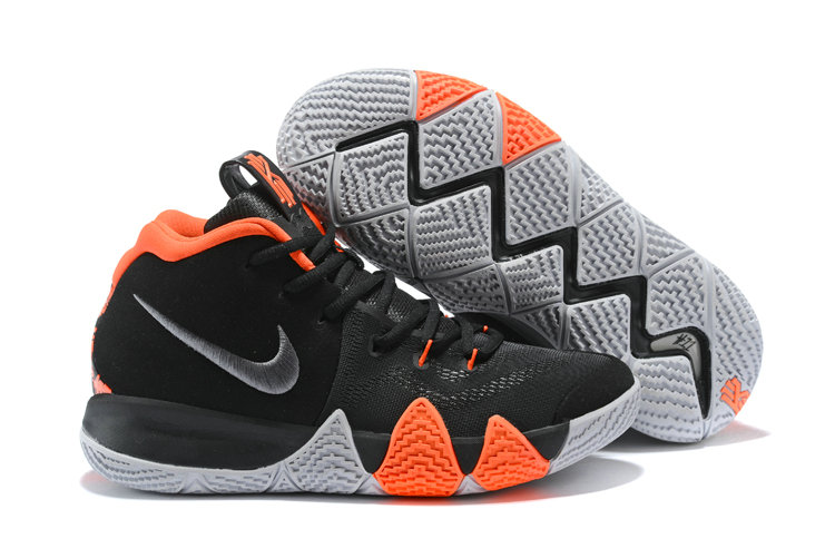 2018 Nike Kyrie Irvings 4 Black Orange White Cheap Sale On VaporMaxRunning