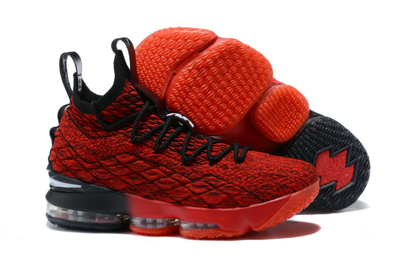 5028a19c84f82 2018 Nike Lebron Shoes x Cheap Nike Lebron 15 Player Exclusives Red Black  On VaporMaxRunning