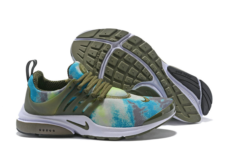 2018 Nike Air Presto x Cheap Nike Air Presto Olive White Blue On VaporMaxRunning