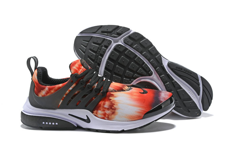2018 Nike Air Presto x Cheap Nike Air Presto Orange Red Black White On VaporMaxRunning