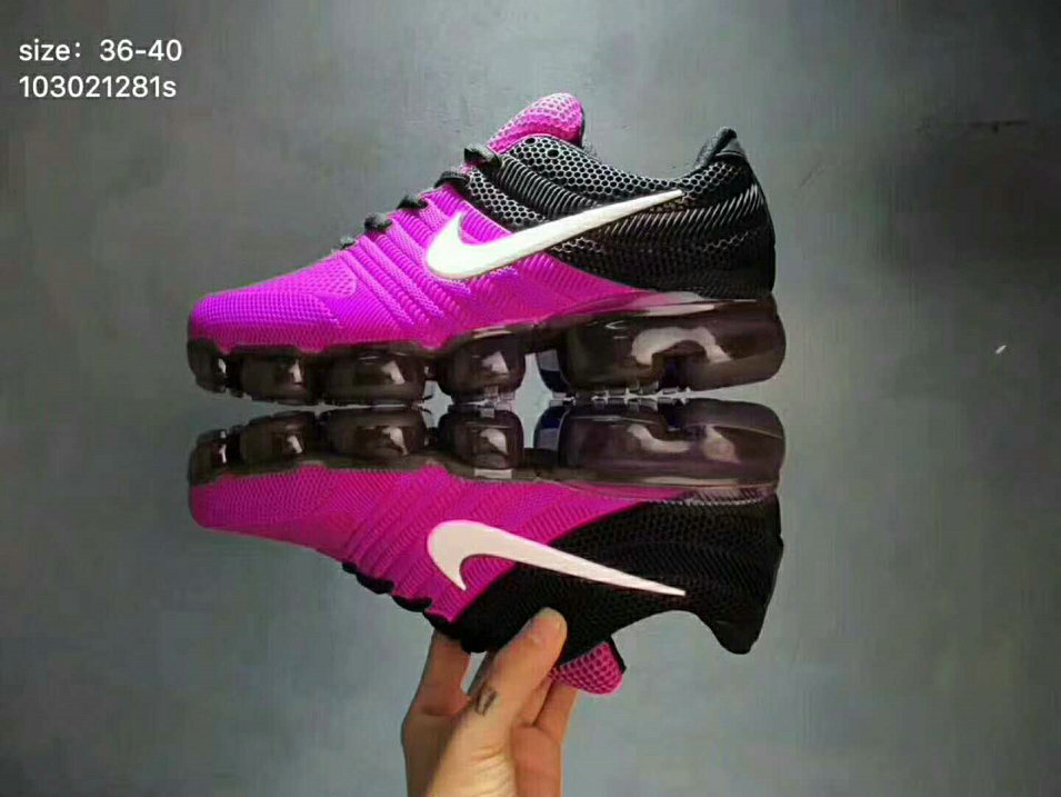 c3451d0b1a59 2018 Womens Nike Air VaporMax 2017 KPU Purple Black White On VaporMaxRunning
