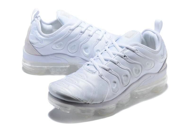 Nike Shoes Cheap Nike Air VaporMax Plus Womens Triple White On VaporMaxRunning