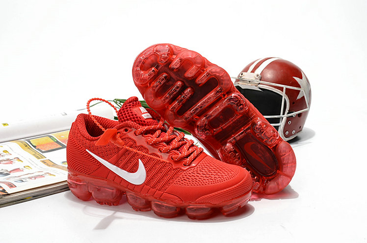 Nike Shoes Cheap Nike Air VaporMax For Kids University Red On VaporMaxRunning