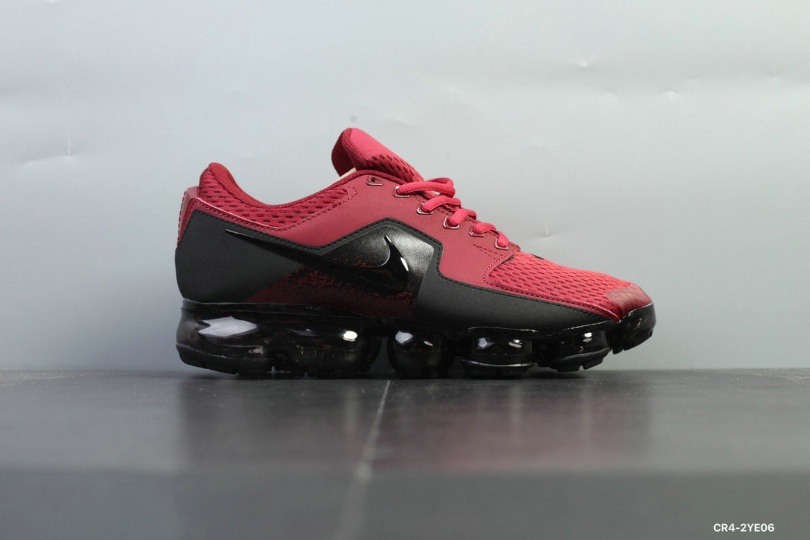 Nike Shoes Cheap Nike Air VaporMax 2018 CS Mens Red Black On VaporMaxRunning