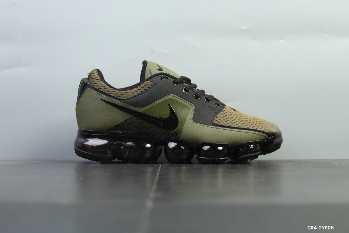 Nike Shoes Cheap Nike Air VaporMax 2018 CS Mens Army Green Black On VaporMaxRunning