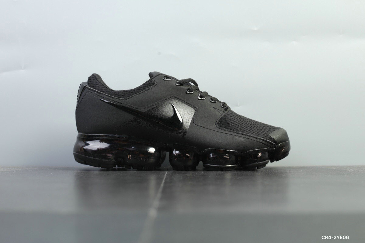 Nike Shoes Cheap Nike Air VaporMax 2018 CS Mens Triple Black On VaporMaxRunning