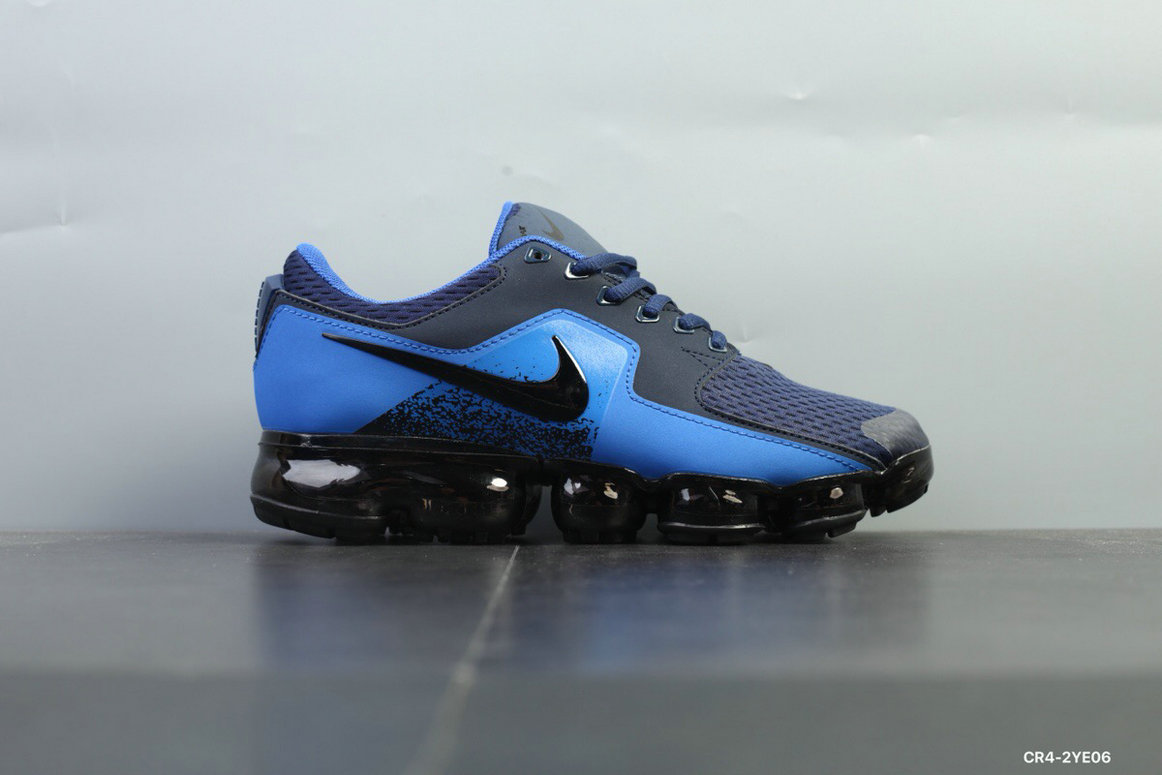Nike Shoes Cheap Nike Air VaporMax 2018 CS Mens Royal Blue Black On VaporMaxRunning