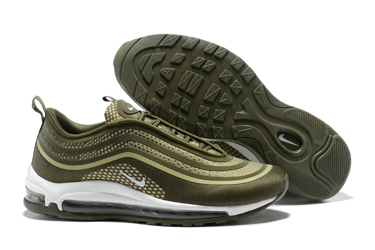 nike 97 air max khaki green