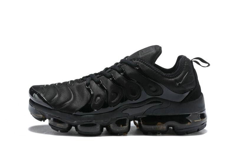 Nike Shoes Cheap Nike Air VaporMax Plus Womens Triple Black On VaporMaxRunning