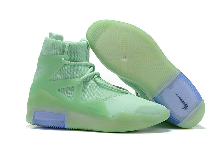 2019 Cheap Nike Air Fear Of God 1 Frosted Spruce AR4237-300 On VaporMaxRunning
