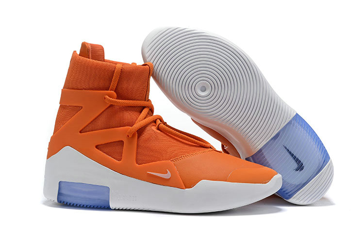 2019 Cheap Nike Air Fear of God 1 SS19 Colorways Reveal Orange Pulse Sail Black Frosted Spruce On VaporMaxRunning