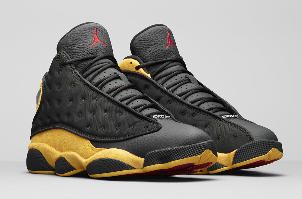 2019 Cheap Nike Air Jordan 13 Carmelo Anthony Class of 2002 414571-035 Black University Red-University Gold 414571-035 On VaporMaxRunning
