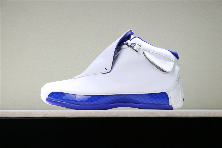 2019 Cheap Nike Air Jordan 18 Sport Royal AA2494-106 On VaporMaxRunning