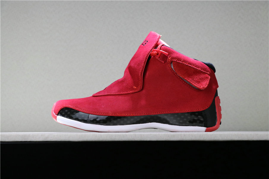 2019 Cheap Nike Air Jordan 18 Toro AA2494-601 On VaporMaxRunning