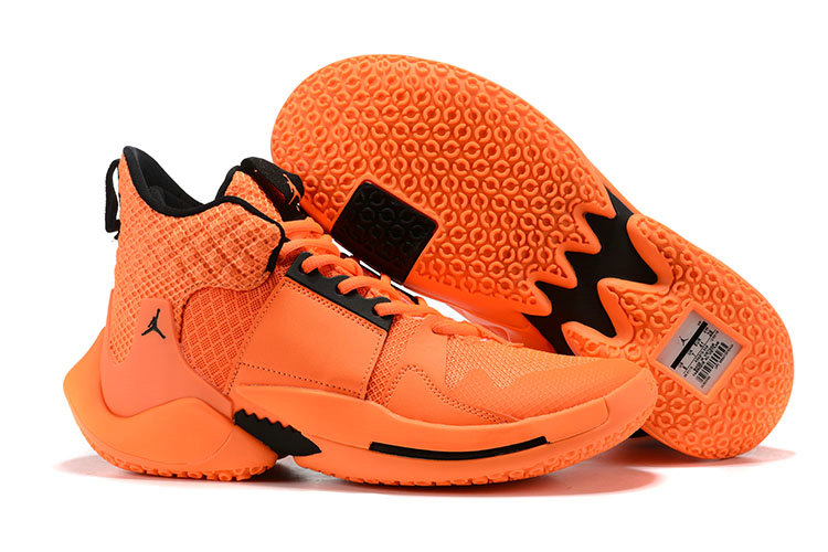 2019 Cheap Nike Air Jordan Mens Why Not Zer0.2 Basketball Shoes Orange Black On VaporMaxRunning