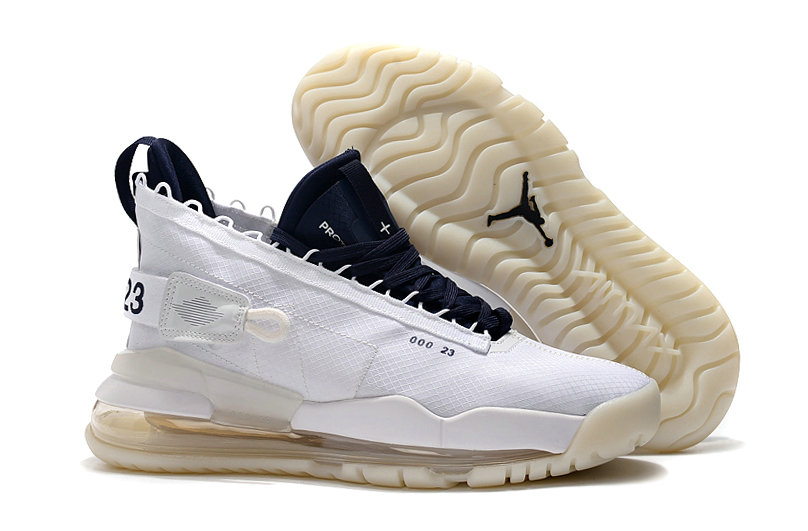 2019 Cheap Nike Air Jordan Proto Max 720 White Navy Blue On VaporMaxRunning