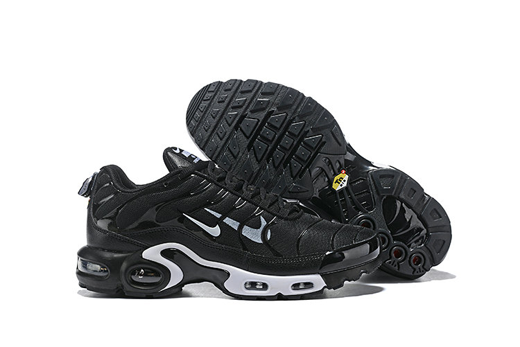 2019 Nike Air Max TN Plus Cheap Black White On VaporMaxRunning