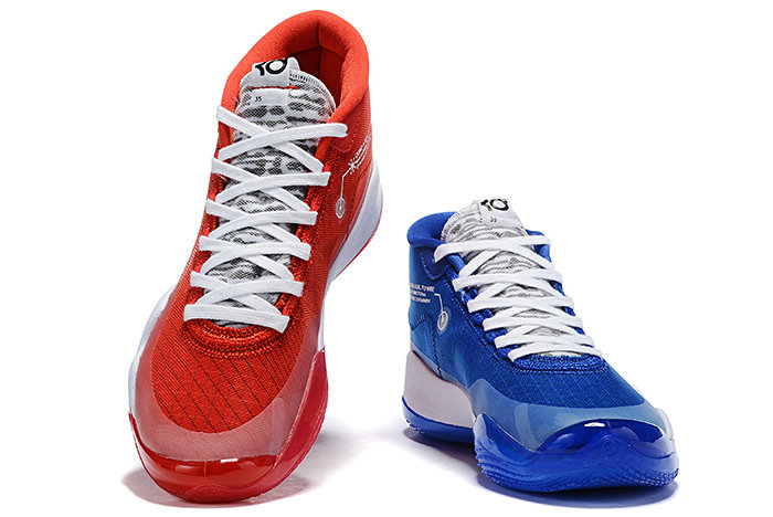 Where To Buy 2019 Nike KD 12 Team Bank Game Royal and University Red For Sale On VaporMaxRunning