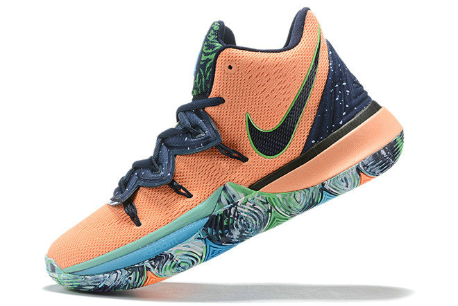 Where To Buy 2019 Nike Kyrie 5 Extraterrestrial Being Navy Blue Orange For Sale On VaporMaxRunning