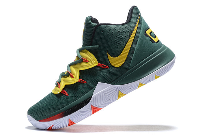 Where To Buy 2019 Nike Kyrie 5 Gorge Green Metallic Gold-Red For Sale On VaporMaxRunning