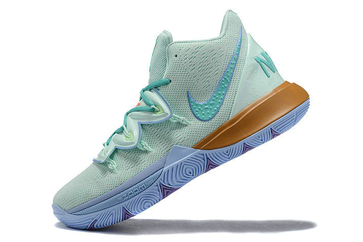 Where To Buy 2019 Nike Kyrie 5 Squidward Frosted Spruce Aluminum CJ6951-300 On VaporMaxRunning
