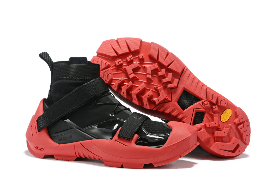 2019 Where To Buy Cheap NIKE X MMW FREE TRAINER 3 SP BLACK UNIVERSITY RED On VaporMaxRunning