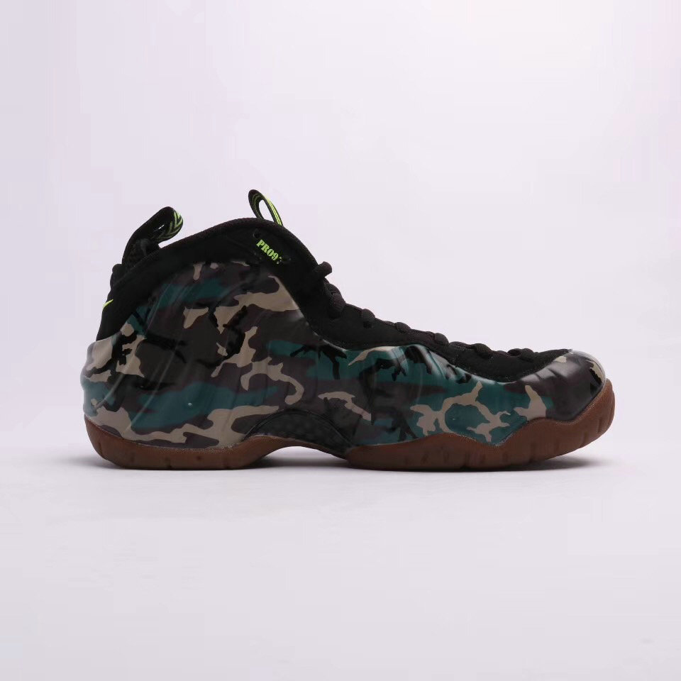 2019 Where To Buy Cheap Nike Air Foamposite Pro Premium LE Army Camo On VaporMaxRunning