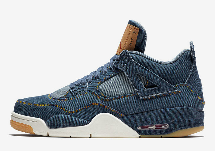 2019 Where To Buy Cheap Nike Air Jordan 4 Levis Denim AO2571-401 On VaporMaxRunning