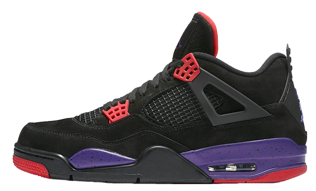 2019 Where To Buy Cheap Nike Air Jordan 4 NRG Black University Red Court Purple AQ3816-056 On VaporMaxRunning