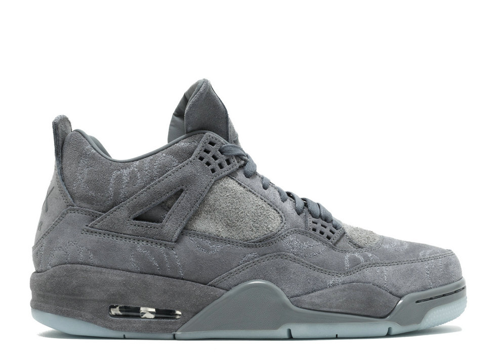 2019 Where To Buy Cheap Nike Air Jordan 4 Retro Kaws Cool Grey 930155-003 On VaporMaxRunning