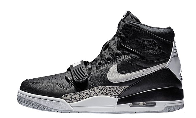 2019 Where To Buy Cheap Nike Air Jordan Legacy 312 Black White AV3922-001 On VaporMaxRunning