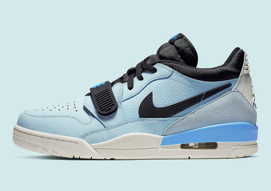 2019 Where To Buy Cheap Nike Air Jordan Legacy 312 Low Pale Blue CD7069 400 On VaporMaxRunning