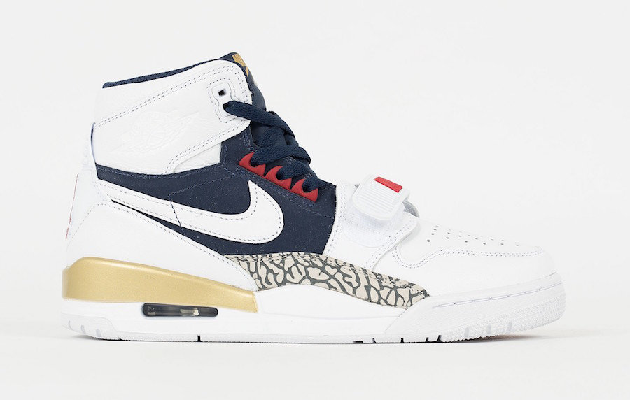 2019 Where To Buy Cheap Nike Air Jordan Legacy 312 Olympic AV3922-101 On VaporMaxRunning